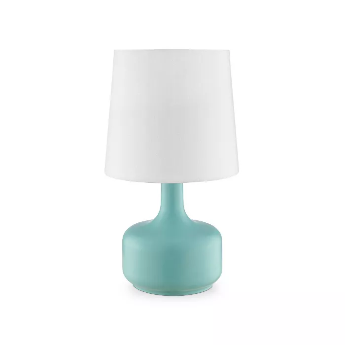 17 25 Modern Metal Table Lamp With Touch Sensor Green Ore International In 2020 Touch Table Lamps Lamp Touch Lamp