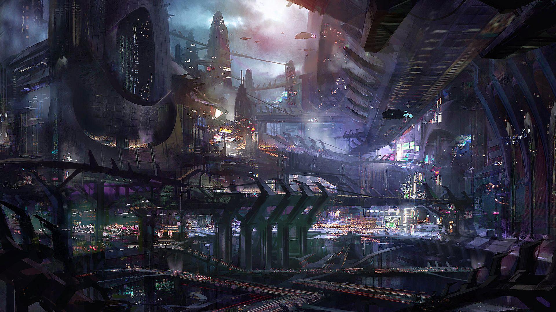 Sci-Fi Wallpaper HD