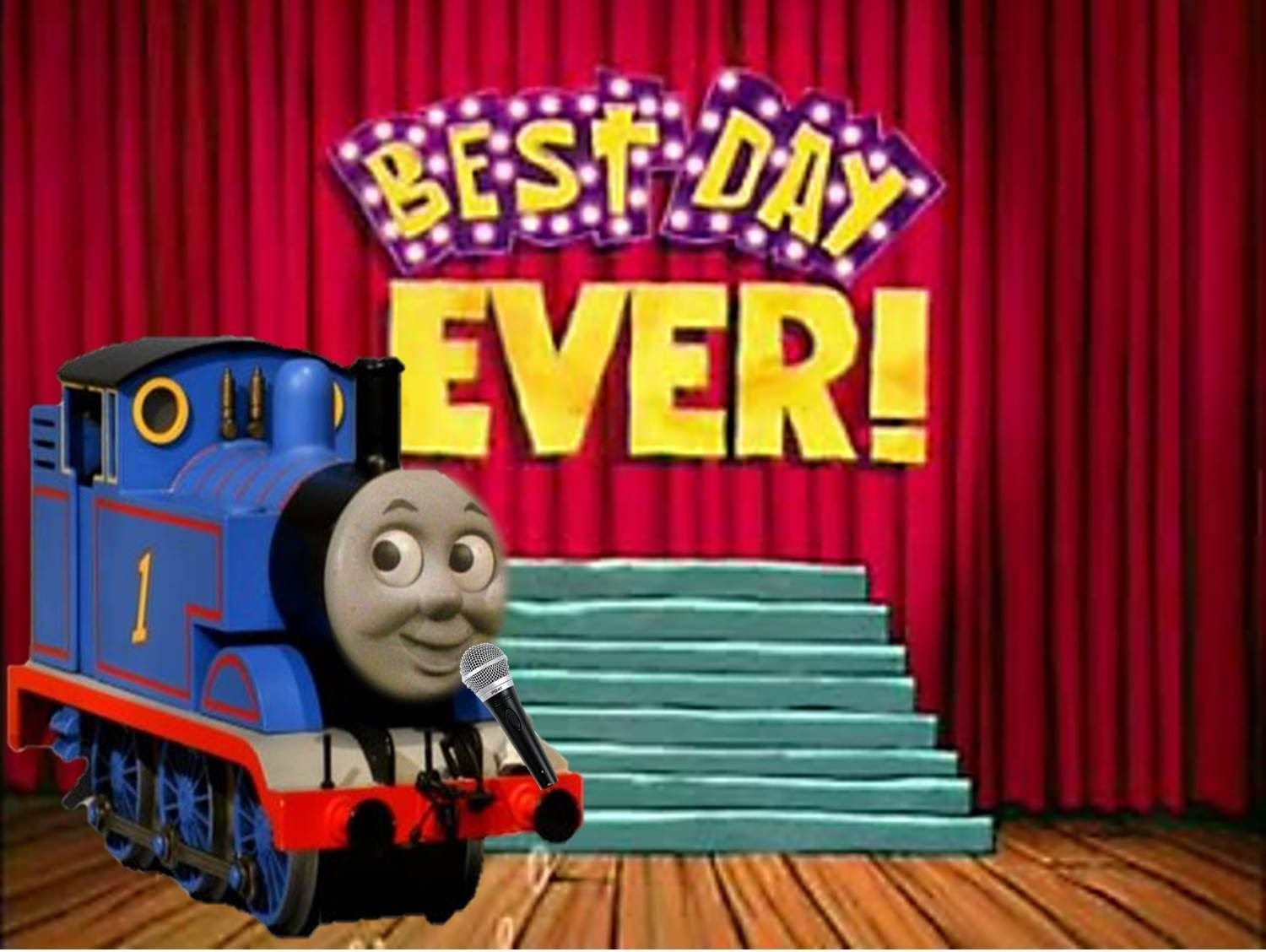 Best Day Ever With Thomas Thomas And Friends Thomas Thomas The Tank Engine