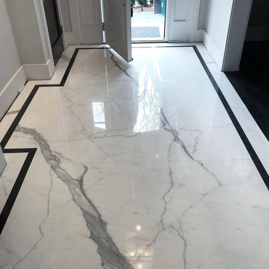Tile Leveling Systems On Instagram This Main Ent In 2020 Luxury Tile Floor Living Room Tiles Floor Tile Design