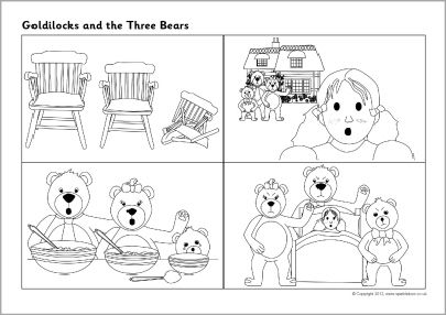 Goldilocks And The Three Bears Sprookjes Beer Thema