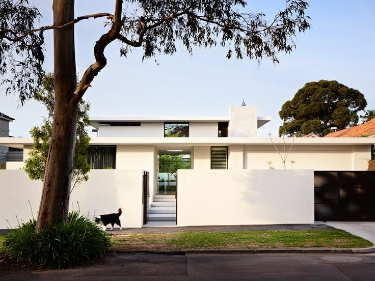 White With Flat Roof Grand Designs Australia Brighton Houses Grand Designs Australia Mid Century Modern Exterior