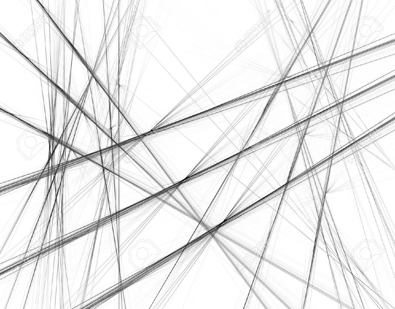 Black and white lines black and white background crossing lines stock photos