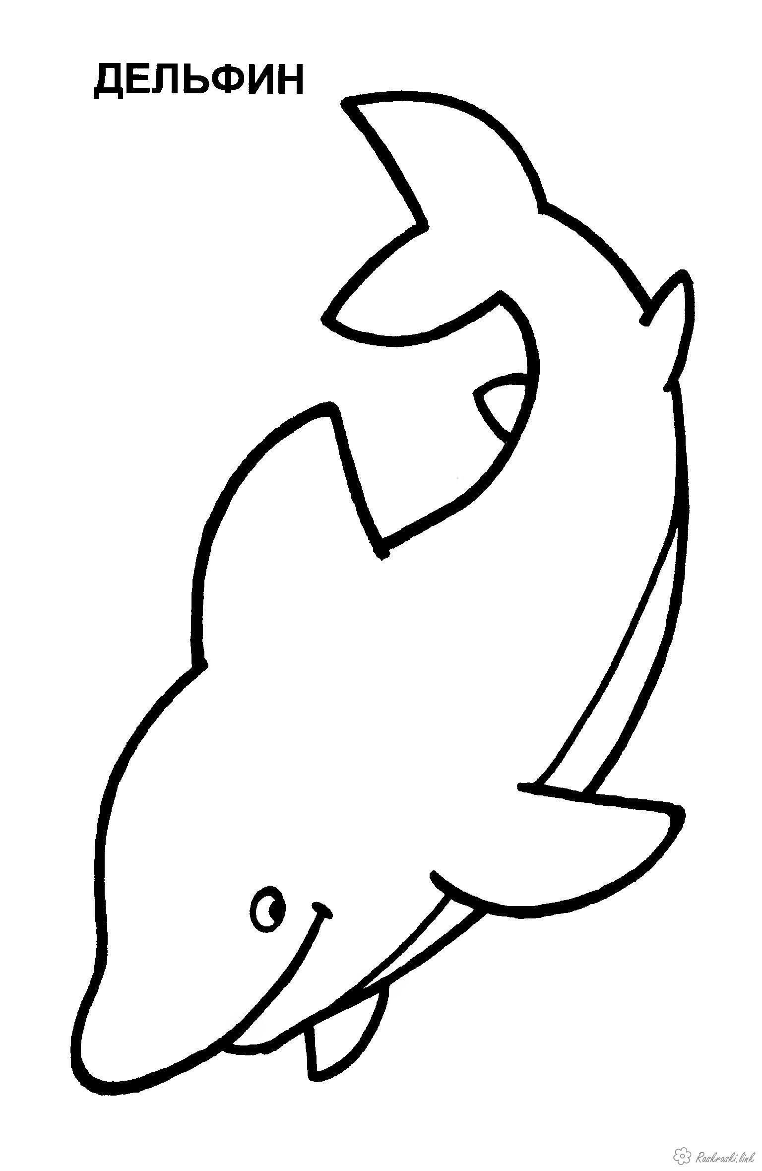 рисунки карандашом не разукрашенные звери для детей 2-3 ...