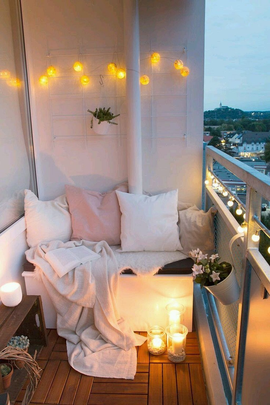 49 Awesome Apartment Balcony Decorating Ideas images
