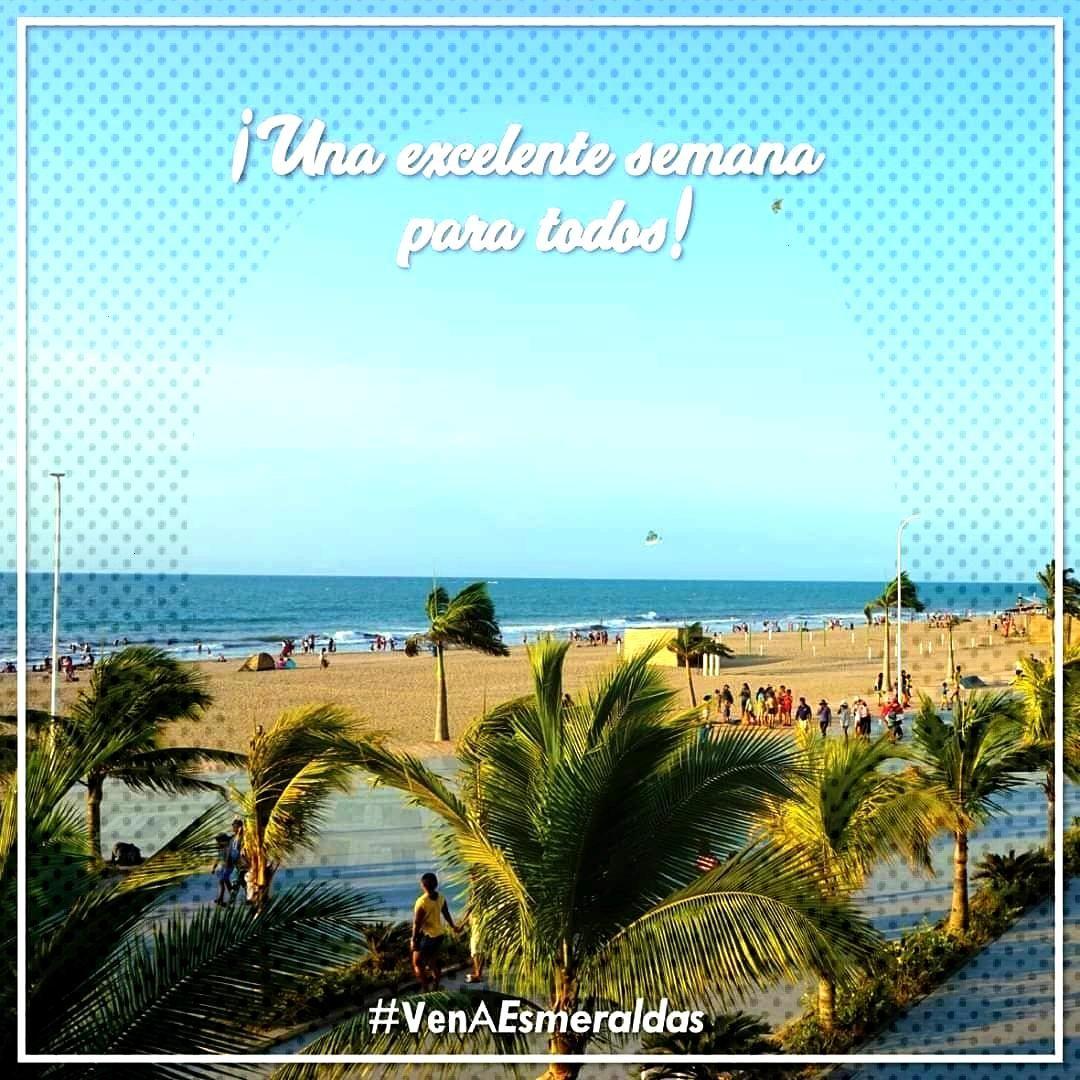 Una excelente semana para todos... desde playa Las Palmas...