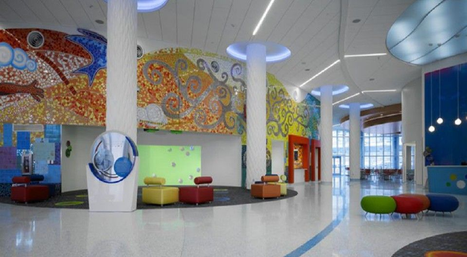 Healthcare new day office spa interior hospital