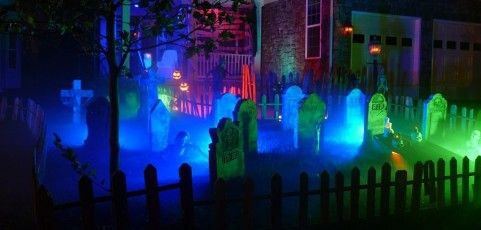 spooky lighting. Spooky Lighting Effects To Make Your House The Best In Neighborhood