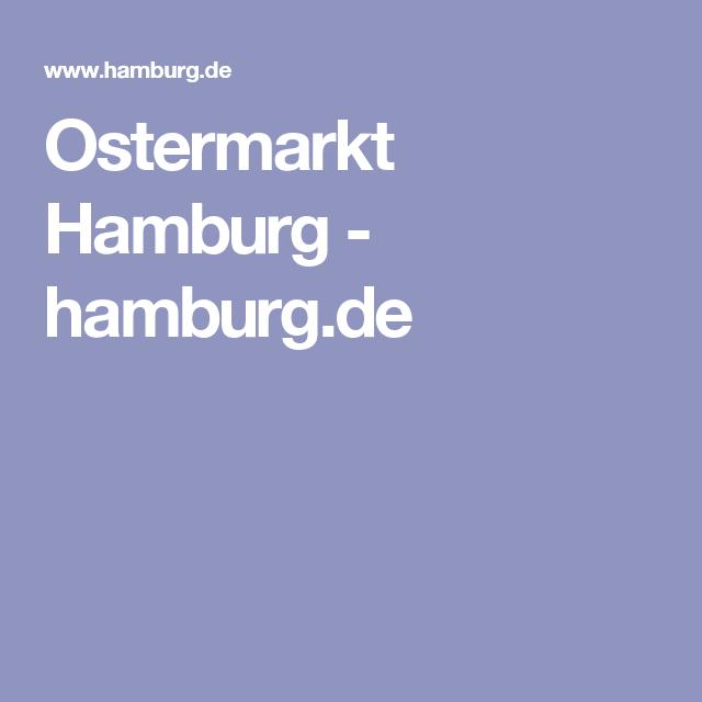 Ostermarkt Hamburg 2021