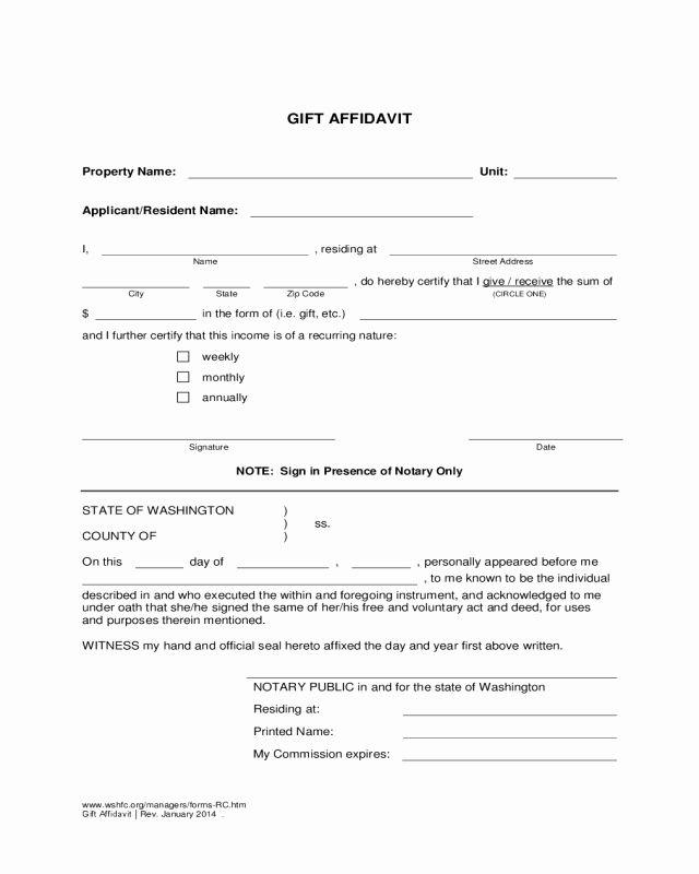 Computershare Affidavit Of Domicile Form Beautiful 2018 Affidavit