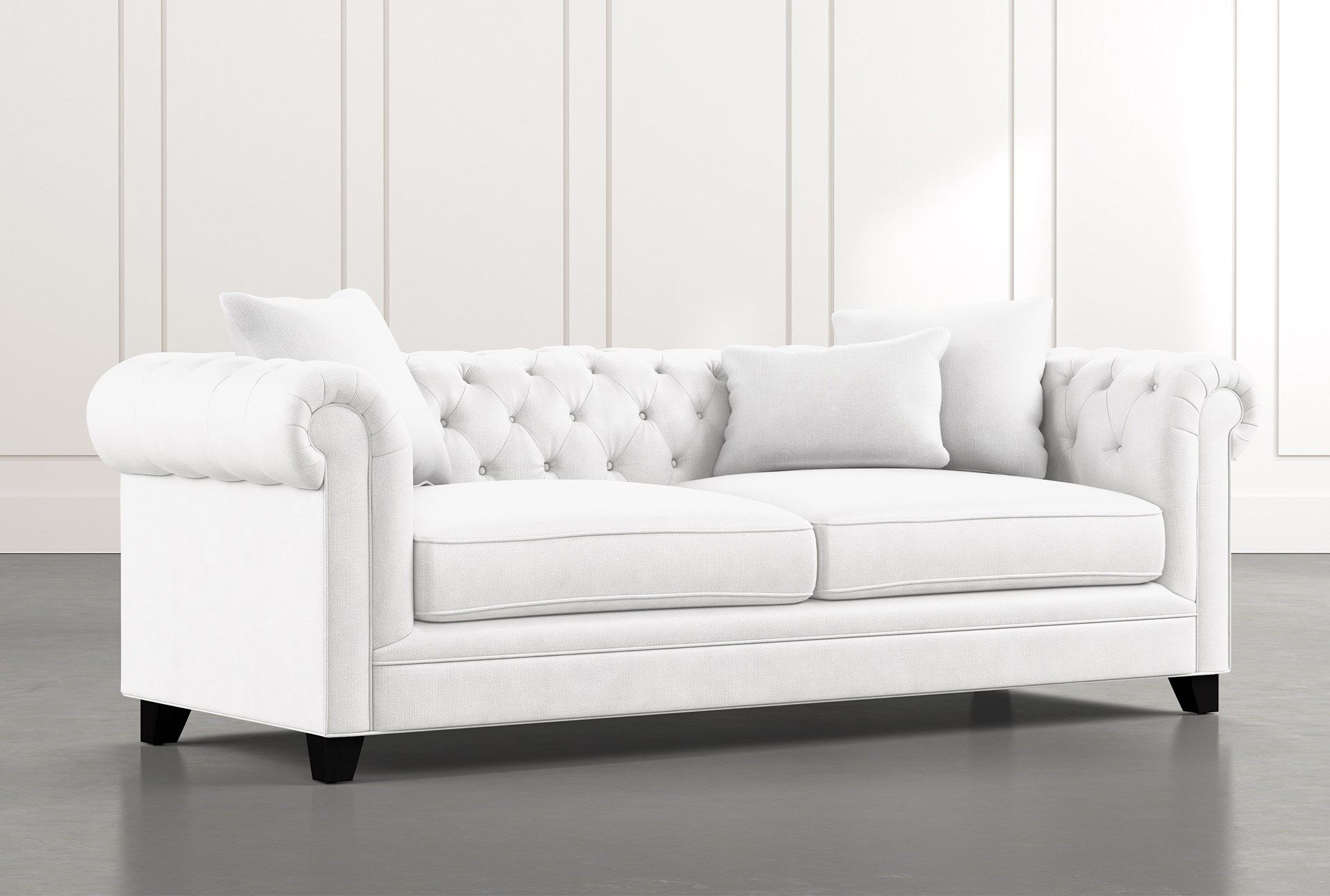 Patterson Iii White Sofa In 2020 White Sofas White Sofa Living Room Couch And Loveseat
