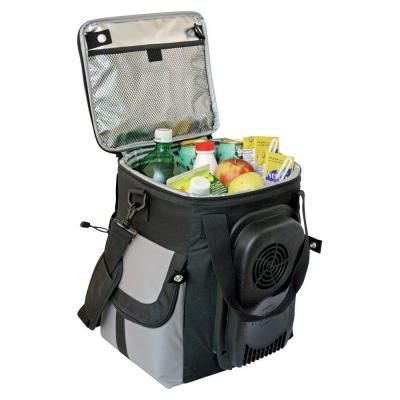 This Is So Cool Literally Plug This Cooler Into A Car S 12 Volt Outlet To Keep The Contents Of The Bag Refr Soft Sided Coolers Grab Bag Gifts Portable Cooler