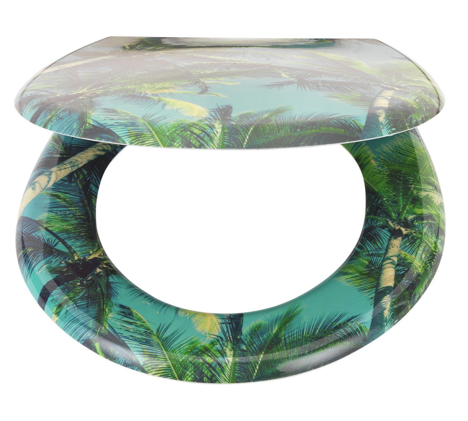 Buy HOME Palm Trees Slow Close Toilet Seat at Argos.co.uk - Your ...
