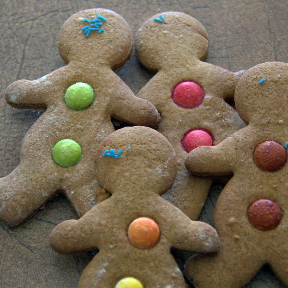 Colourful Gingerbread Men