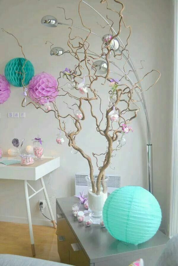 Arbre drag es bapt me pinterest drag es - Idees decoration bapteme fille ...
