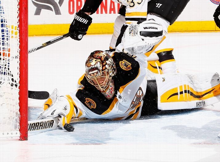 Tuukka Rask, Los Angeles Kings vs. Boston Bruins - Photos - January 31,