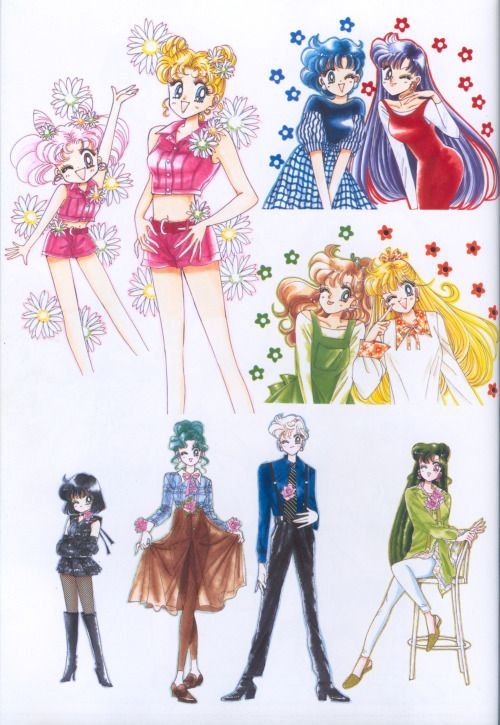 Sailor Moon fashion and outfits | SAILOR SCOUTS ...
