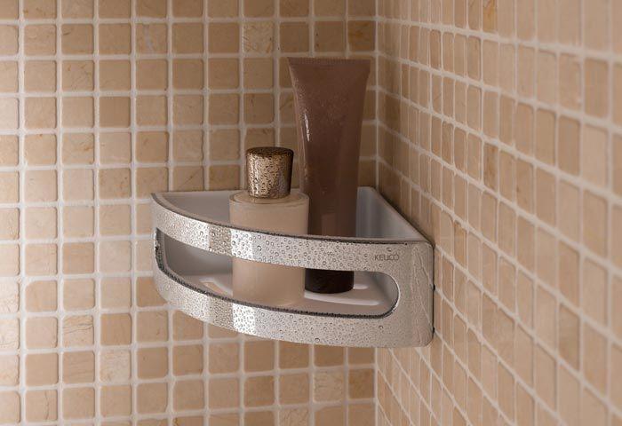 Keuco Elegance Corner shower basket Model: 11657 010000 ...