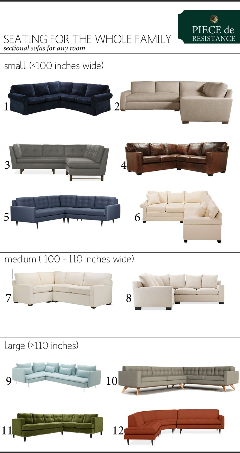 Piece De Resistance Sectional Sofas Copy Creativity Small