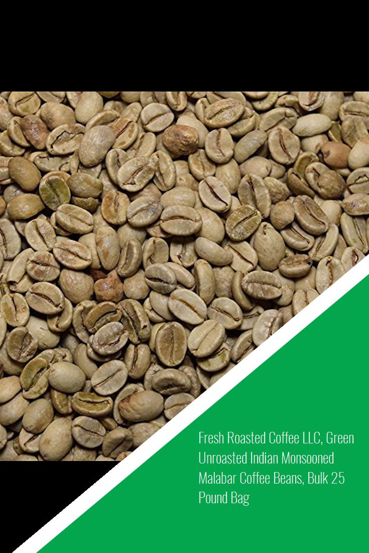 Fresh Roasted Coffee LLC, Green Unroasted Indian Monsooned