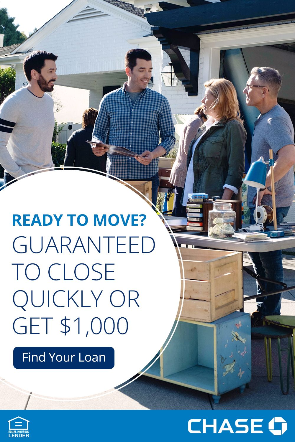 Your Next Home Is Move In Ready And So Are You Chase Guarantees