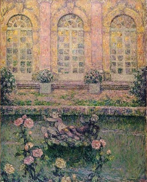 Henri Le Sidaner - Roses de Trianon