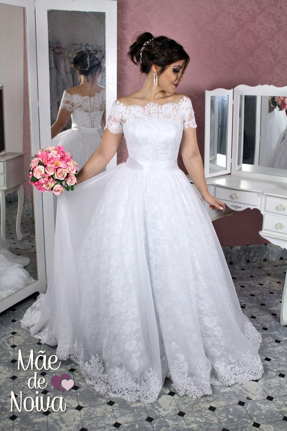 869e9ecfb7e Vestido de noiva princesa