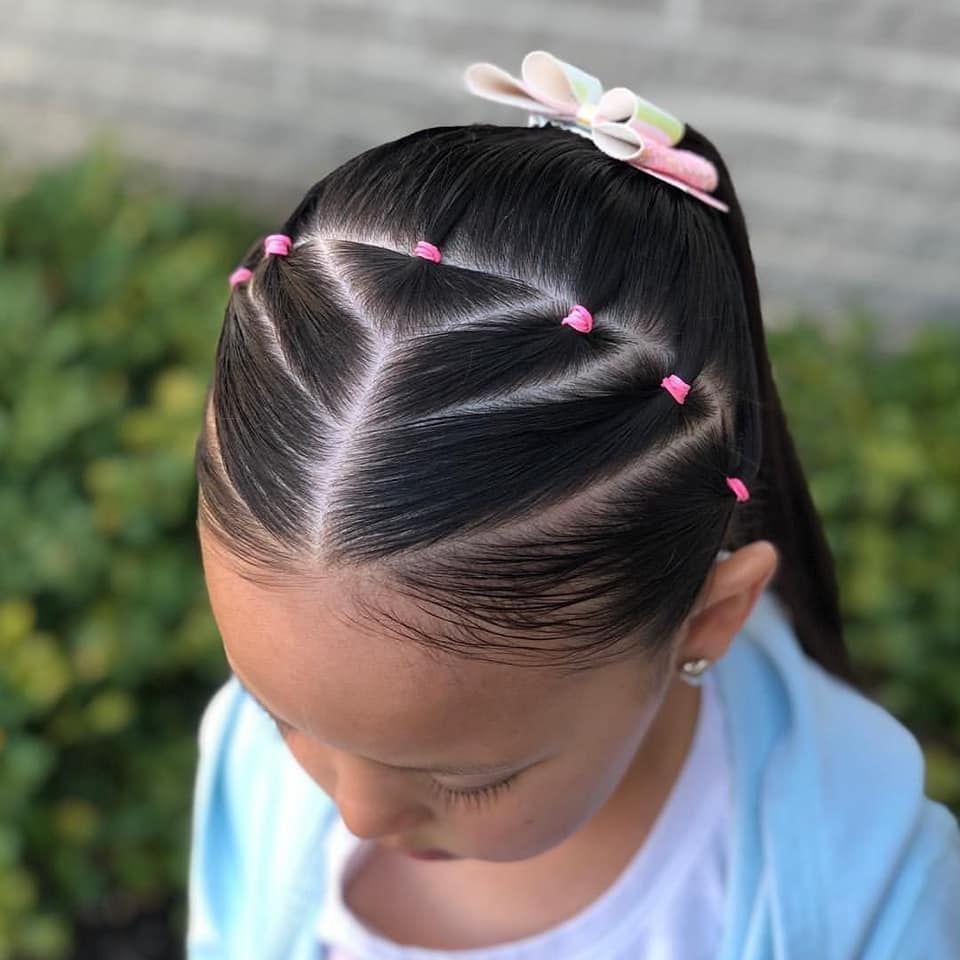 تسريحات اطفال سهلة ومميزة للمدرسة Kids Hairstyles Girls Toddler Hairstyles Girl Easy Hairstyles