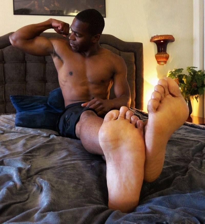 Black men with sexy feet