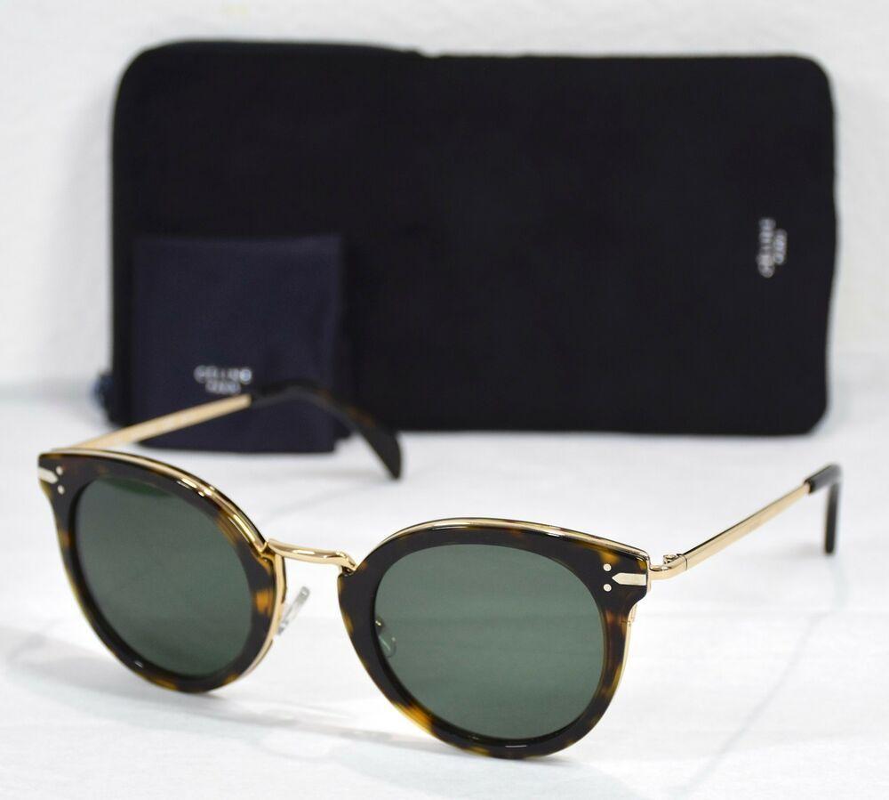 85 Cl41373s Goldamp; Lea Sunglasses Ant New Havana Green Celine Dark 3TKlJcuF1