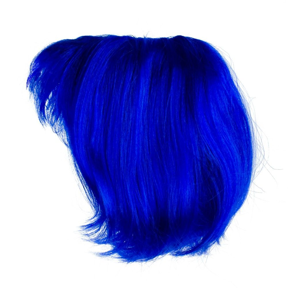 Northlight Blue Women Adult Short Wavy Halloween Wig Costume Accessory - One Size