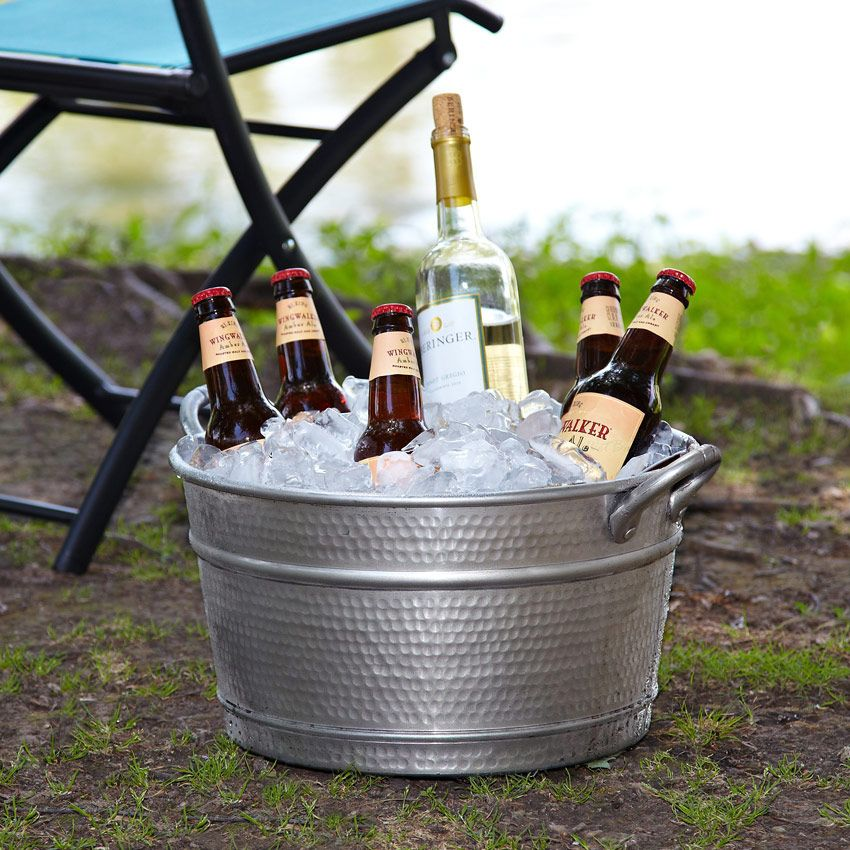 Elegance In Simplicity This Beverage Tub Is Crafted From
