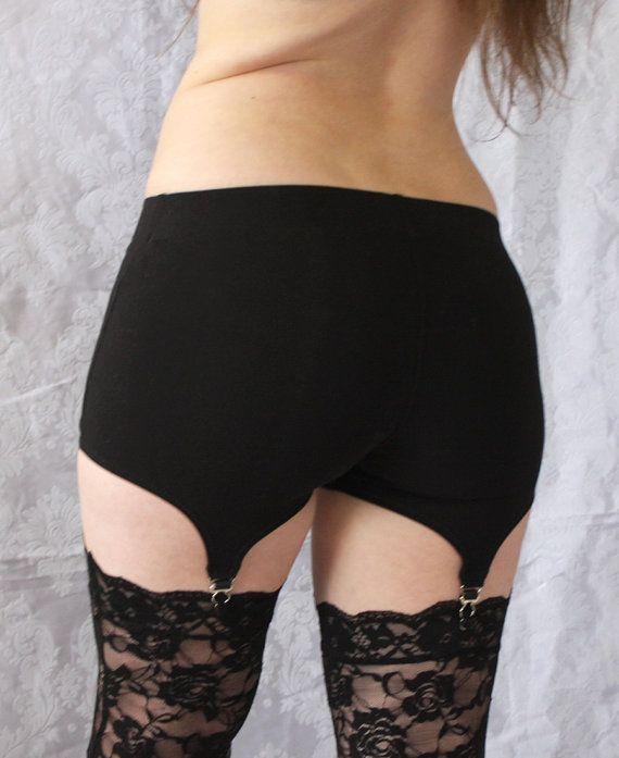 99d986174 Garter Shorts Comfy Cotton Garter Belt Alternative