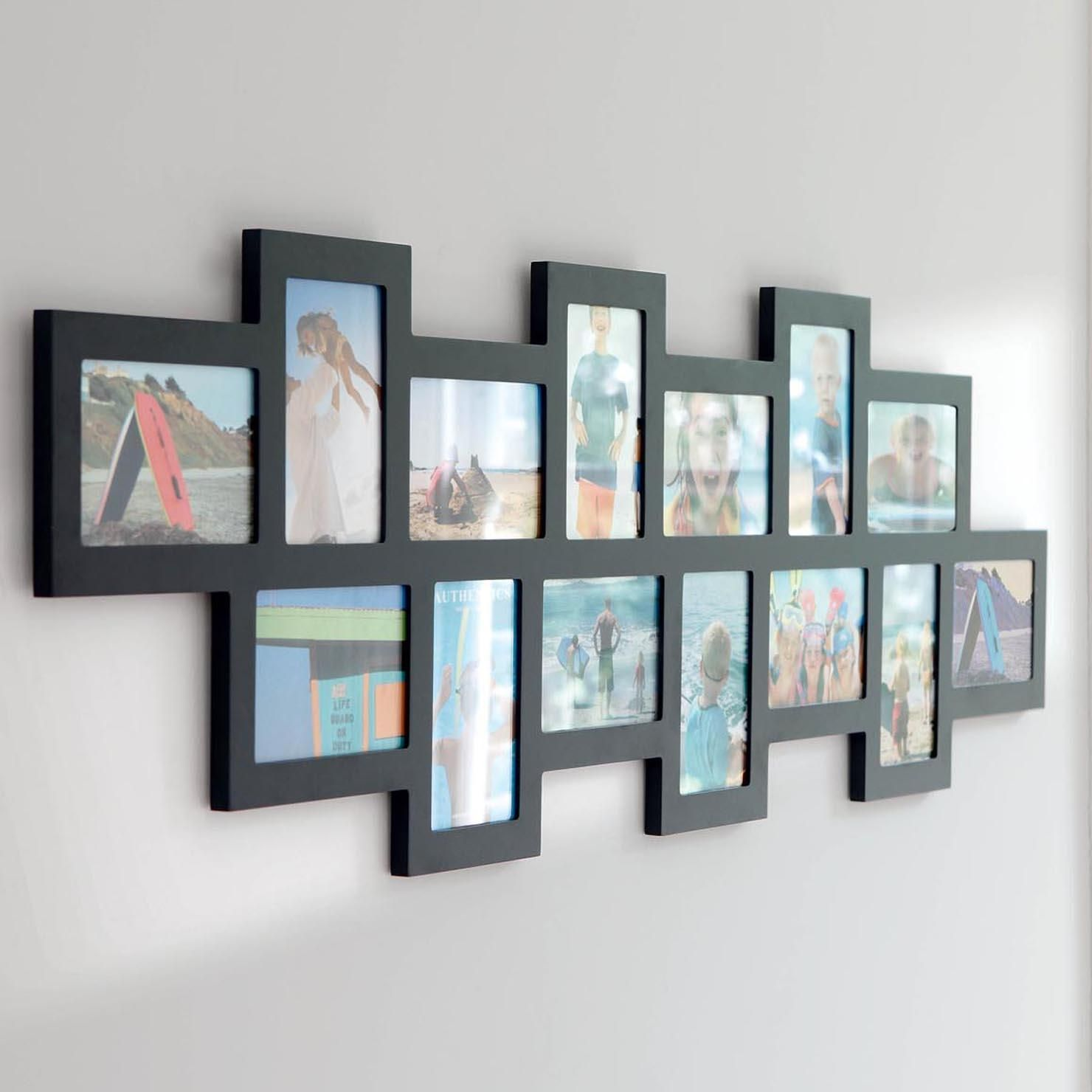 Authentics Studio 14, Multi Photo Frame, Black | ACHICA ...