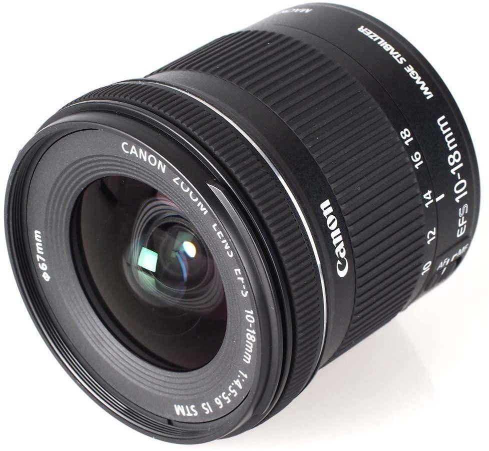 Canon Lente Ef S 10 18mm F 4 5 5 6 Is Stm Preta Lens Wide Angle Canon