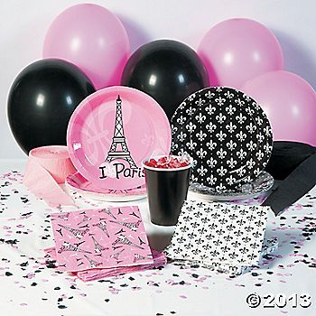 Make her birthday perfect with Perfectly Paris Party Supplies