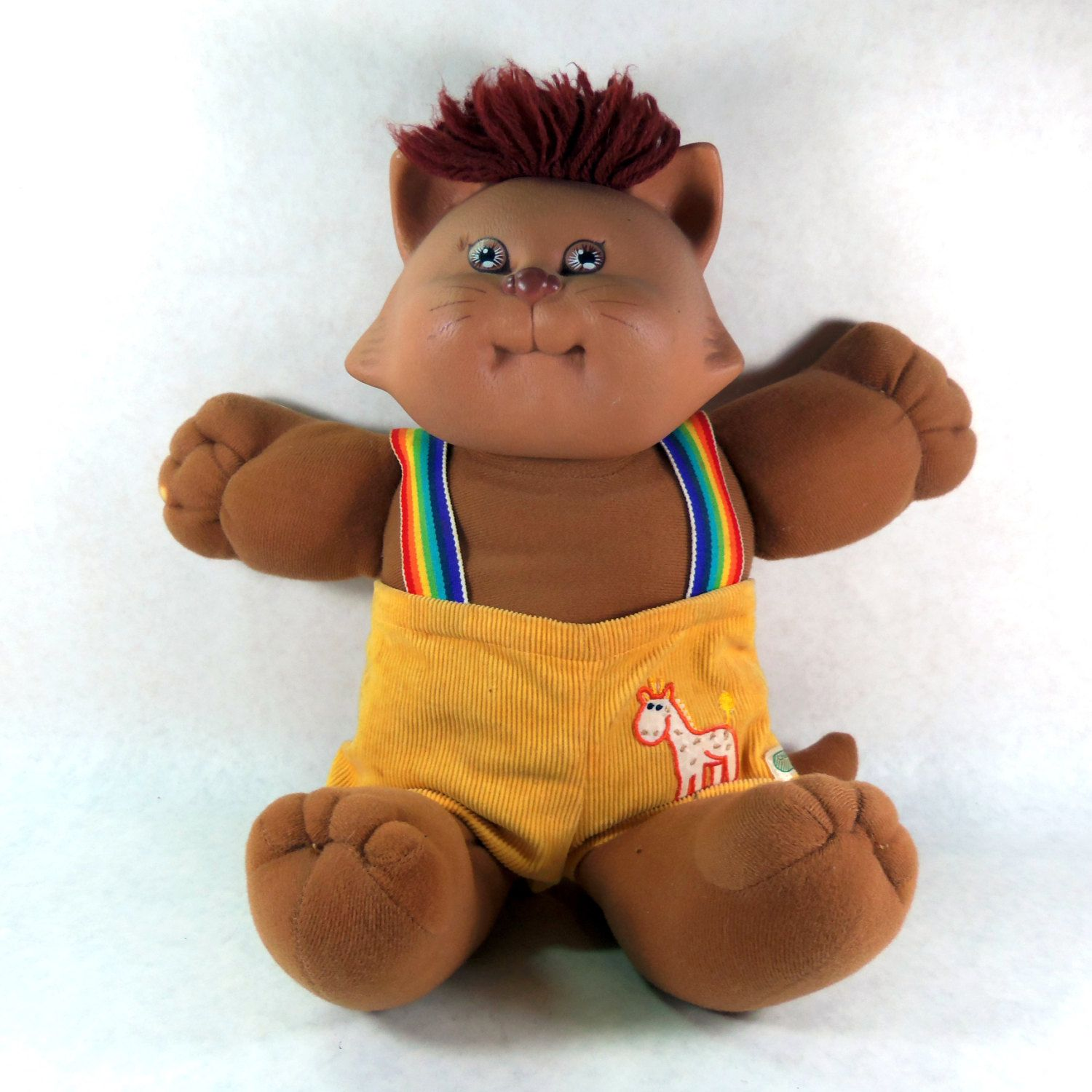 Cabbage Patch Kids Koosas, Xavier Roberts Dog 1983 by TheJunkinSailor on Etsy https://www.etsy.com/listing/180696201/cabbage-patch-kids-koosas-xavier-roberts