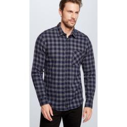 Photo of Carver shirt, navy checkered Strellson