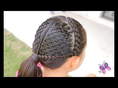 Peinados con trenzas nudo chino