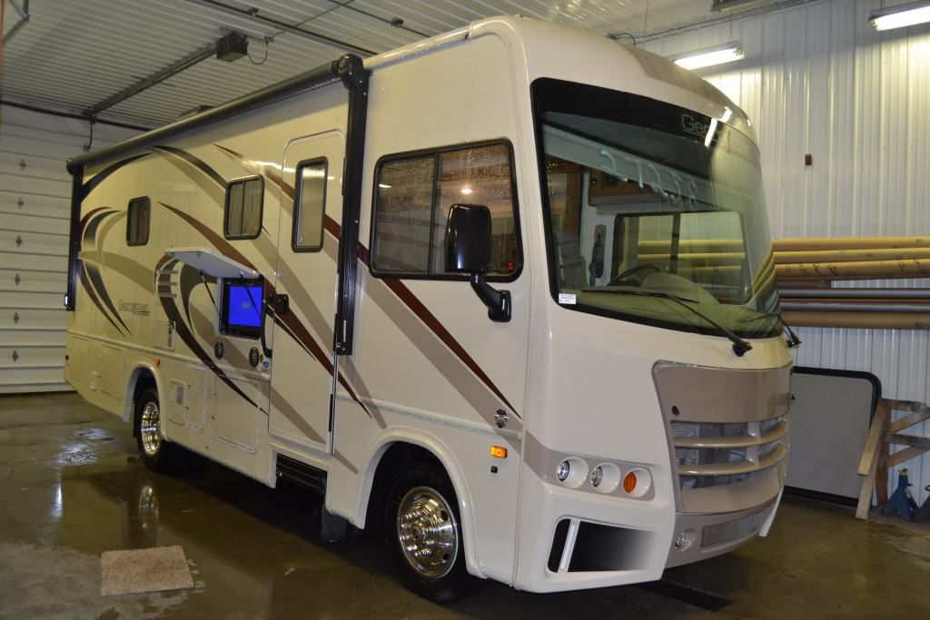 Hit The Gas And Never Look Back 2017 Forest River Georgetown 3 Series 24w Cruise Along The Coast This 26 Rv Camping Accessories Rvs For Sale Georgetown