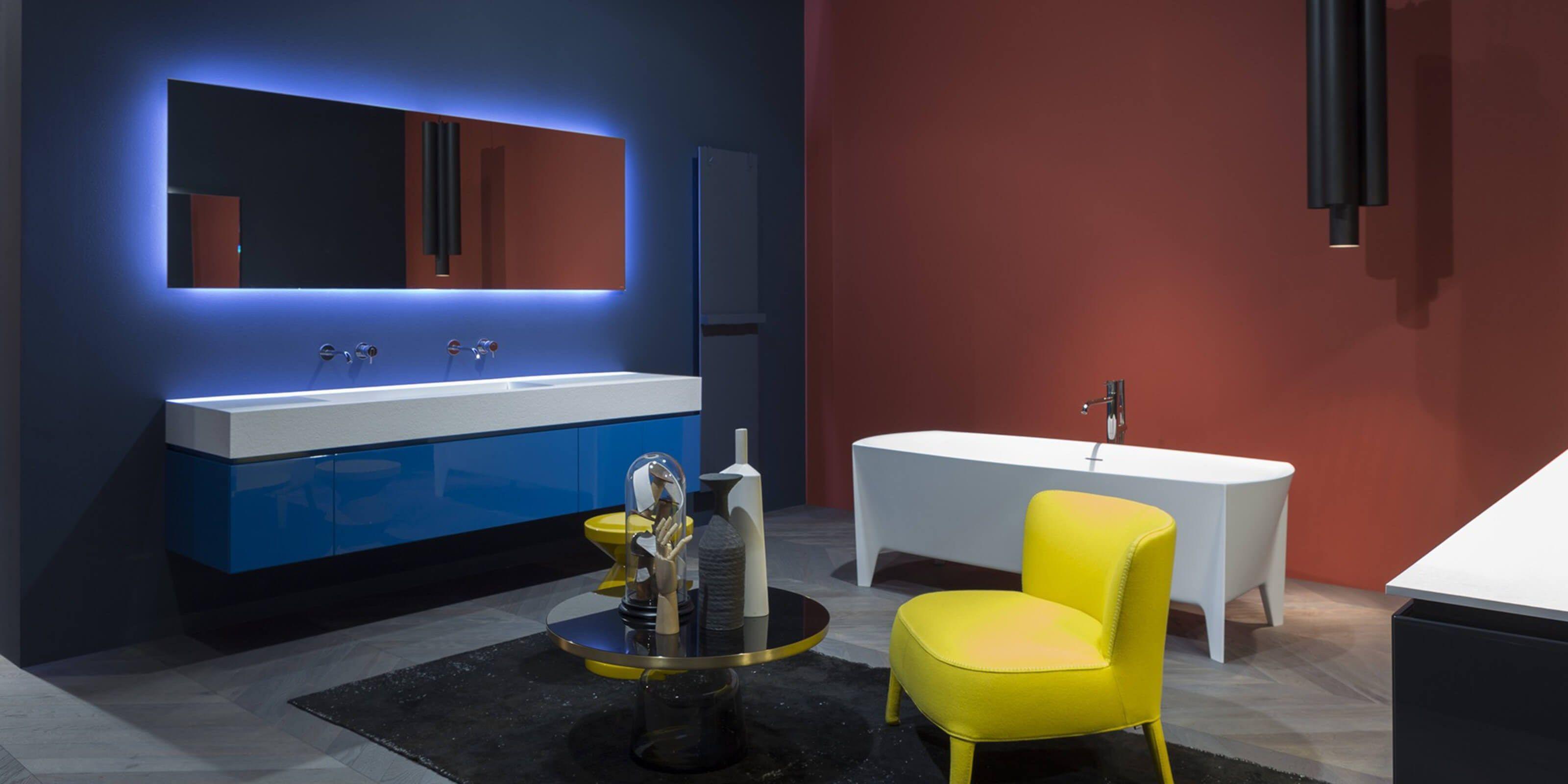 Bathroom furniture set LUNARIA Antonio Lupi Design Nội