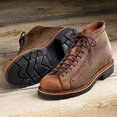 d9bbf68614a Roofer Boots at Duluth Trading, $175 Kind of like bowling shoes as ...