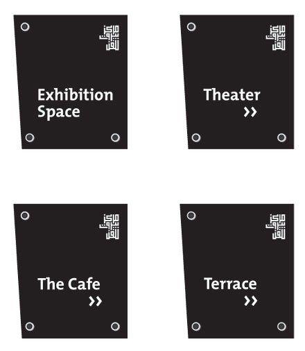 Beirut Art Center signage