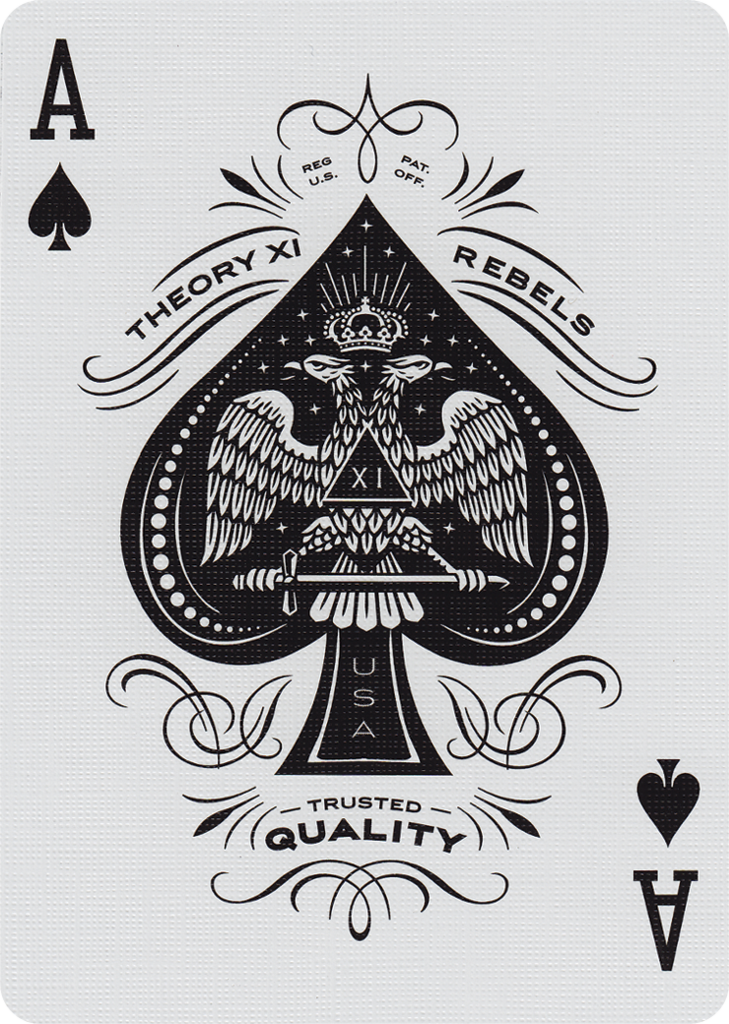 Theory Xi Rebels Ace Ace Of Spades Tattoo Card Tattoo Designs Playing Cards Art