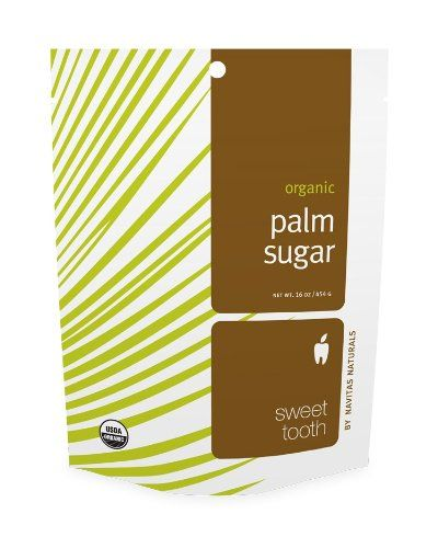 Navitas Naturals Palm Sugar, 16-Ounce Pouches (Pack of 2)