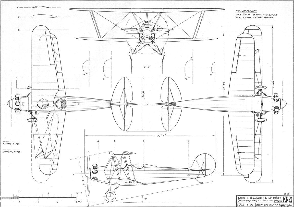 Fairchild Kr21