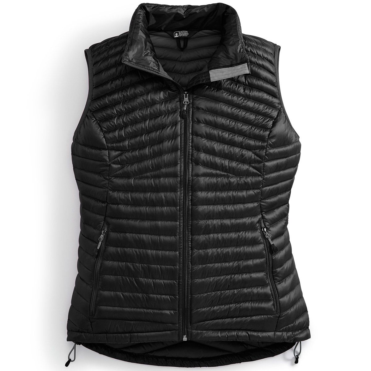 EMS® Women's Feather Pack 800 Downtek™ Vest, past season - JET BLACK