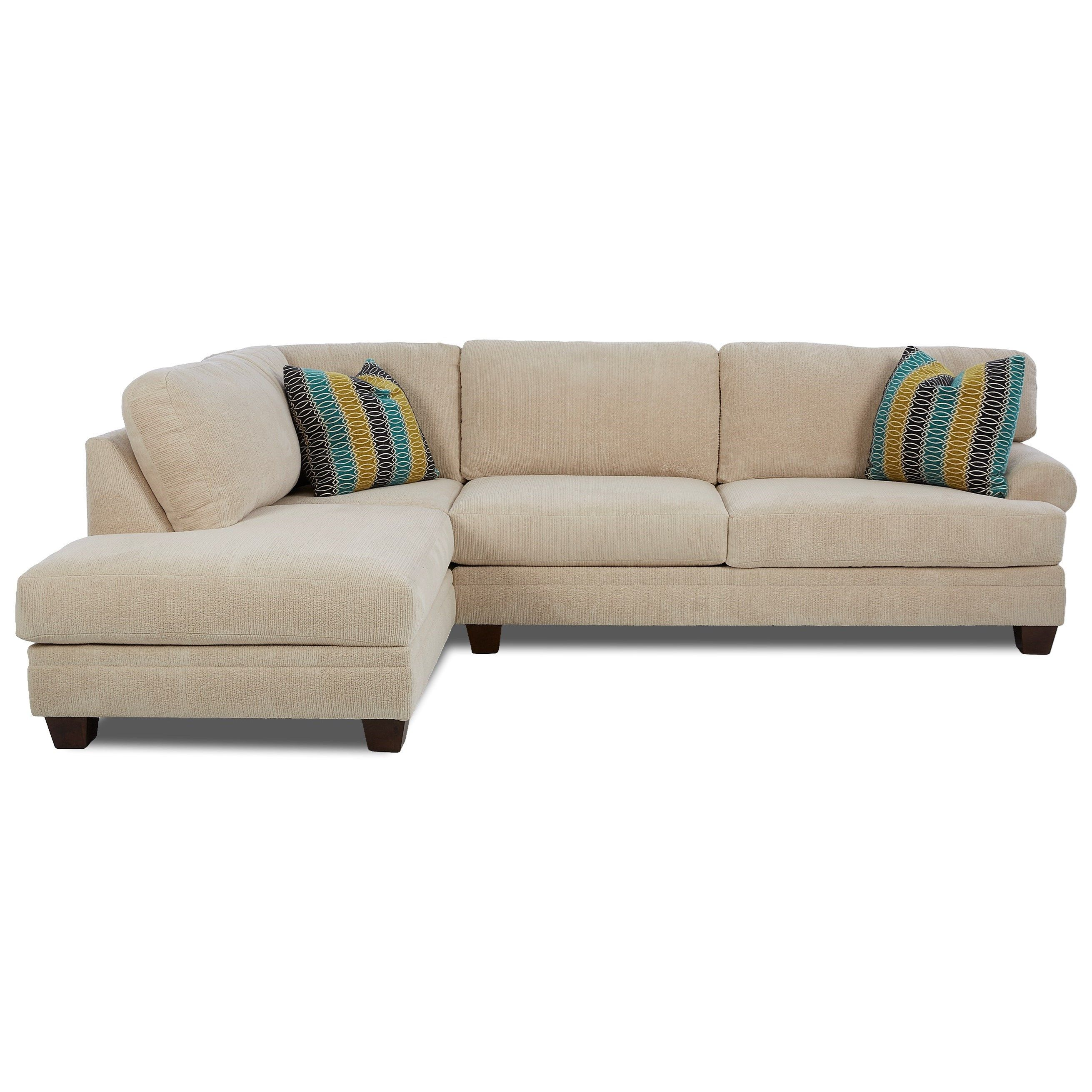 Amazing Tinley 2 Pc Sectional Sofa W Laf Sofa Chaise By Klaussner Machost Co Dining Chair Design Ideas Machostcouk