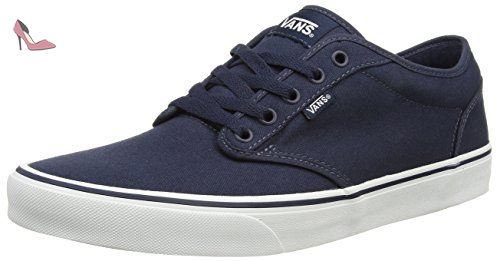 W Atwood Low, Baskets mode mixte adulte - Bleu (Navy/White), 37 EUVans