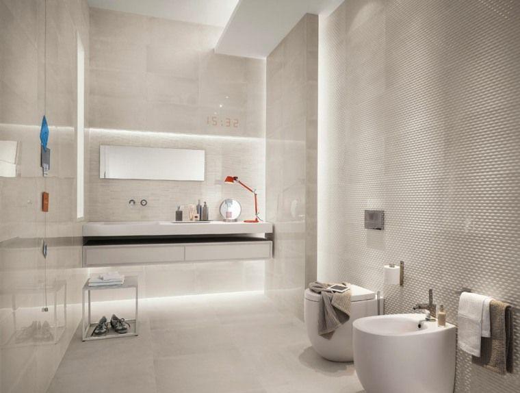 Idée carrelage salle de bain d\u0027inspiration design - Photo Faience Salle De Bain